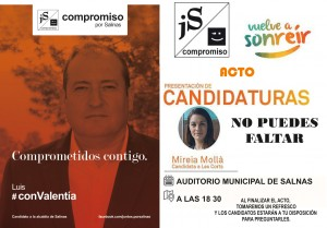 Mitin campaña electoral Municipales 2015